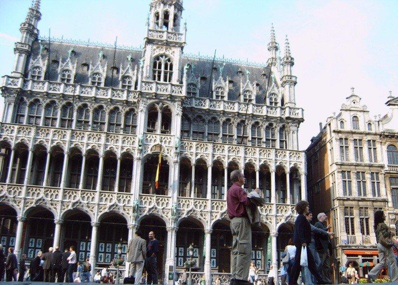 Imagen del centro de Bruselas.