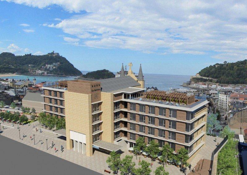 28 M € de inversión para un proyecto de Catalonia en San Sebastián