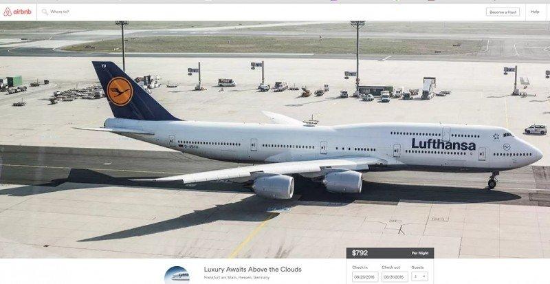 Lufthansa, primera aerolínea que vende sus vuelos en Airbnb