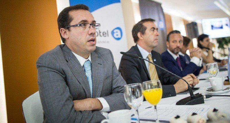 Reunión del comité ejecutivo de la patronal hotelera Ashotel.