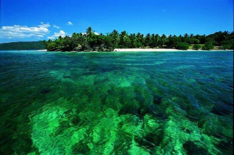 Playa de Cayo Levantado, República Dominicana.