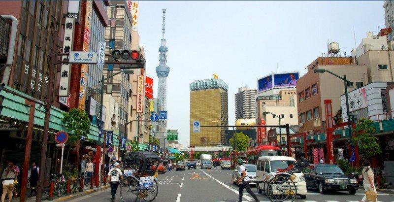 Imagen de Tokio, uno de los destinos japoneses que estudia Meliá. Foto: archivo Expedia.