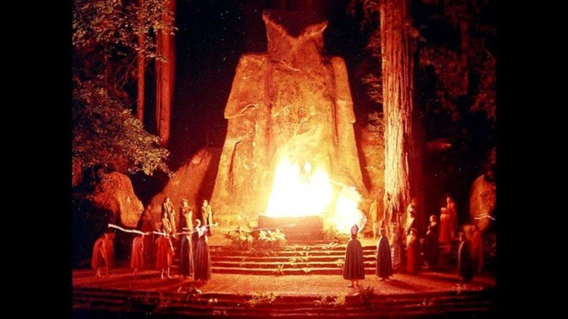 Bohemian Grove, California.