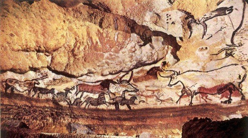 Cueva de Lascaux, Francia.