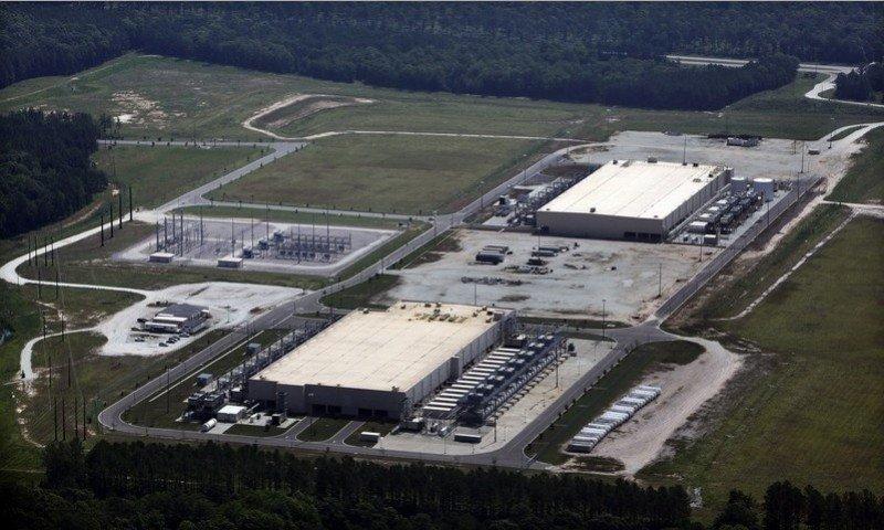 Centro de datos de Google, en Carolina del Sur, EEUU.