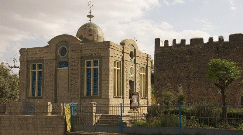 Santa María de Sion, Etiopía.