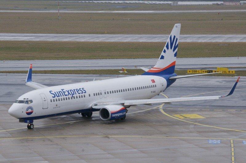 Un avión de la compañía Sun Express. Imagen:  Aero Icarus / Wikimedia Commons