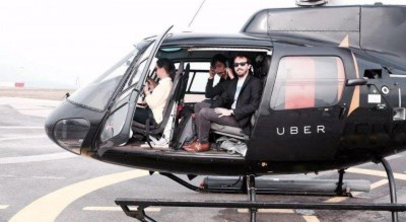 Uber ofrece sobrevolar en helicóptero la ampliación del canal de Panamá