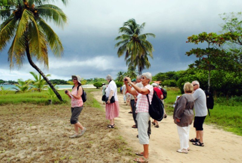 Turistas en Nicaragua.