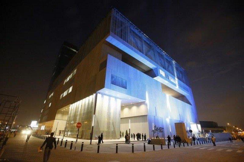 El Centro de Convenciones de Lima, inaugurado este año, tiene capacidad para recibir a más de 10.000 personas. Foto: Andina