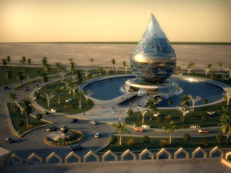 Los Green Hotels de Teexmicron Technologies pueden construirse en cualquier lugar del mundo porque no necesitan que haya recursos hídricos en el subsuelo.