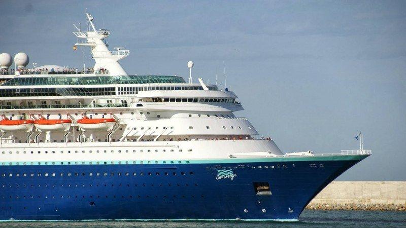El Sovereign operará en Brasil desde el 1° de diciembre hasta marzo.