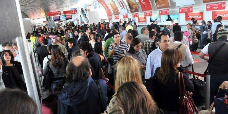 Transporte aéreo de pasajeros en Colombia creció 6,8% de enero a mayo