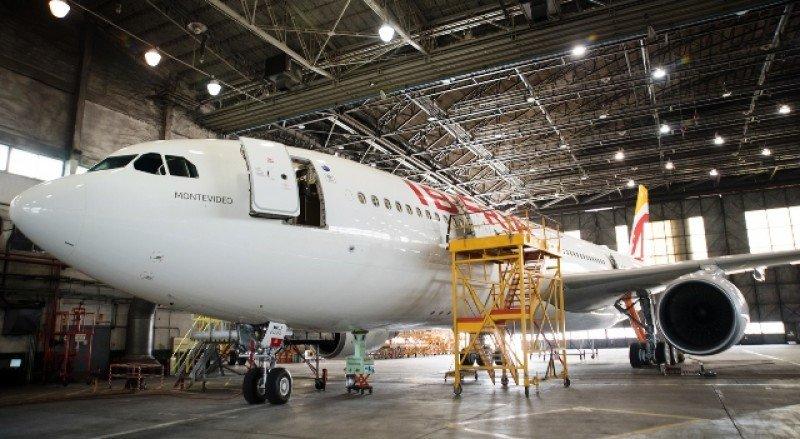 Montevideo, el nuevo avión de la flota de Iberia.