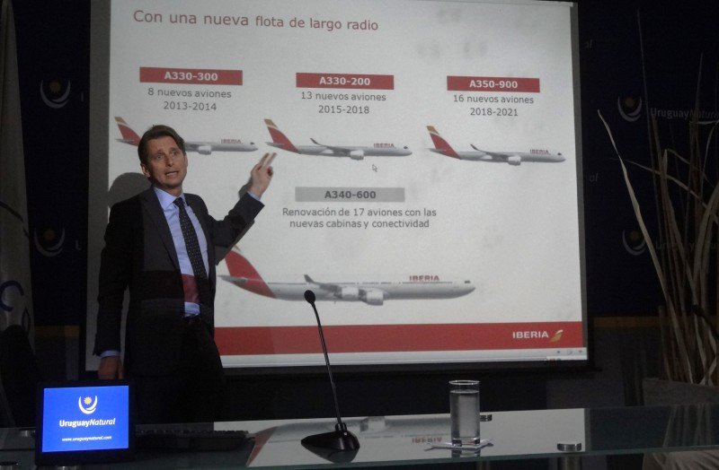 Frédéric Martínez, director de Iberia para América Latina.