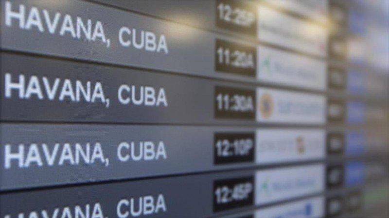 EEUU anuncia vuelos directos a La Habana desde 10 ciudades antes de fin de año