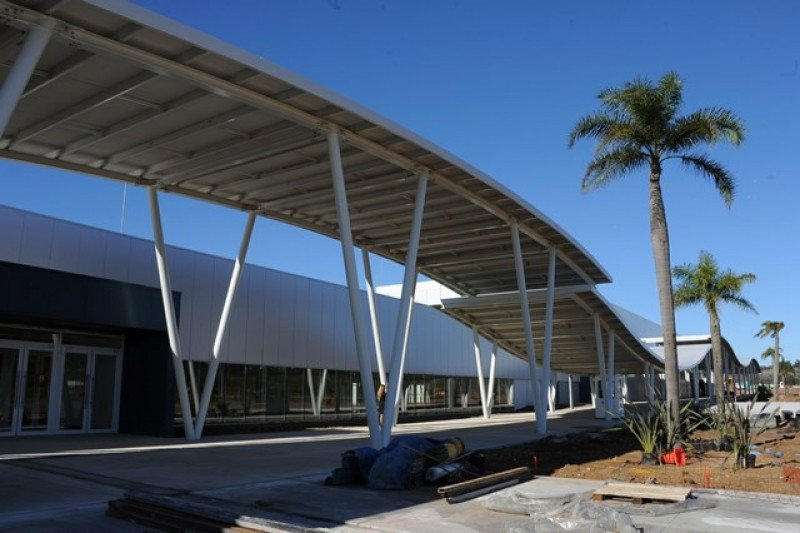La estructura se basa en un diseño de Carlos Ott.