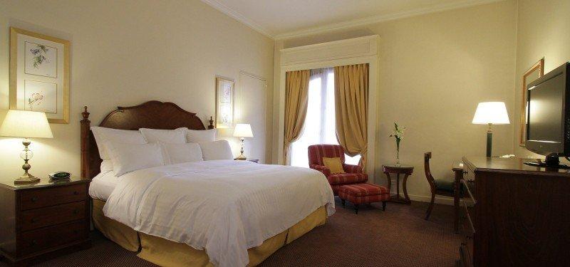 El hotel tiene 318 habitaciones pero al ser ampliadas se reducirá el número de cuartos.
