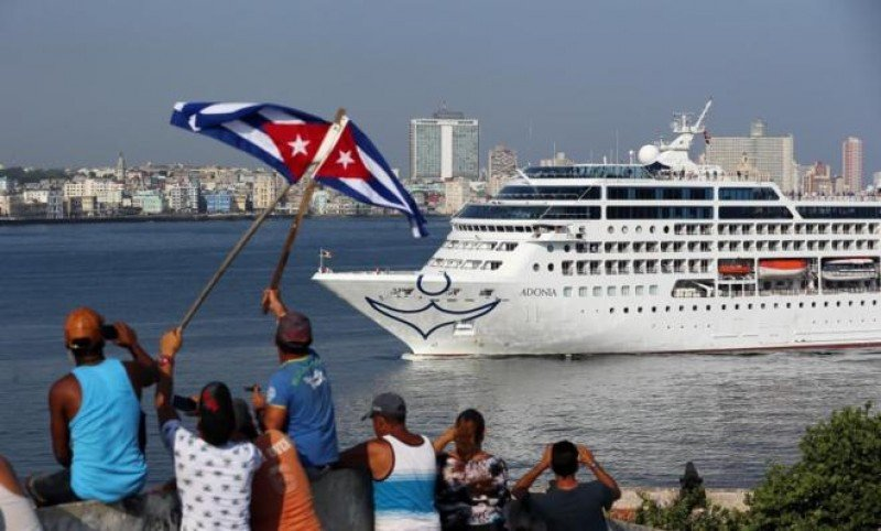 Turismo de cruceros a Cuba crece en primer semestre de 2016