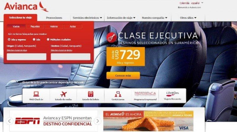 Nueva web de Avianca suma funcionalidades para discapacitados