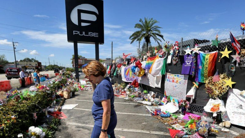 La discoteca Pulse, a un mes de la tragedia. Foto: Orlando Sentinel.