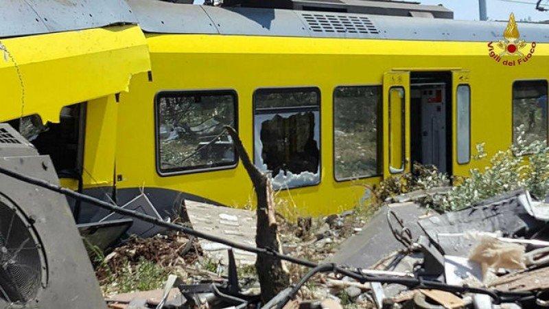 Sube a 27 el número de muertos por el choque de trenes en Italia