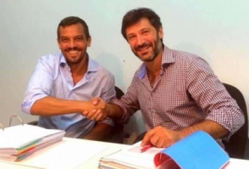 Lluis Salvadó, presidente de Dominican Development, y Sergio Hernández Genovés, director general de Bestinpro Group.