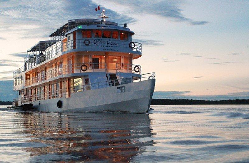 Asaltan crucero de lujo en el río Amazonas