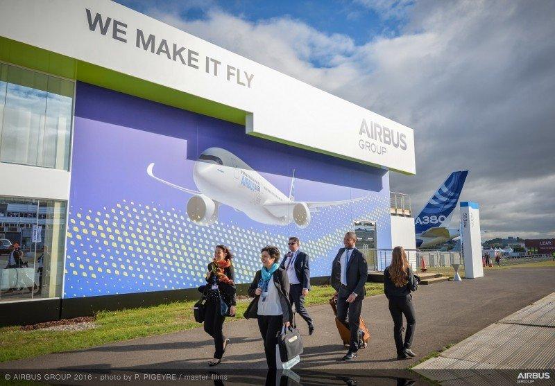 Airbus gana US$ 35.000 millones en el Air Show británico