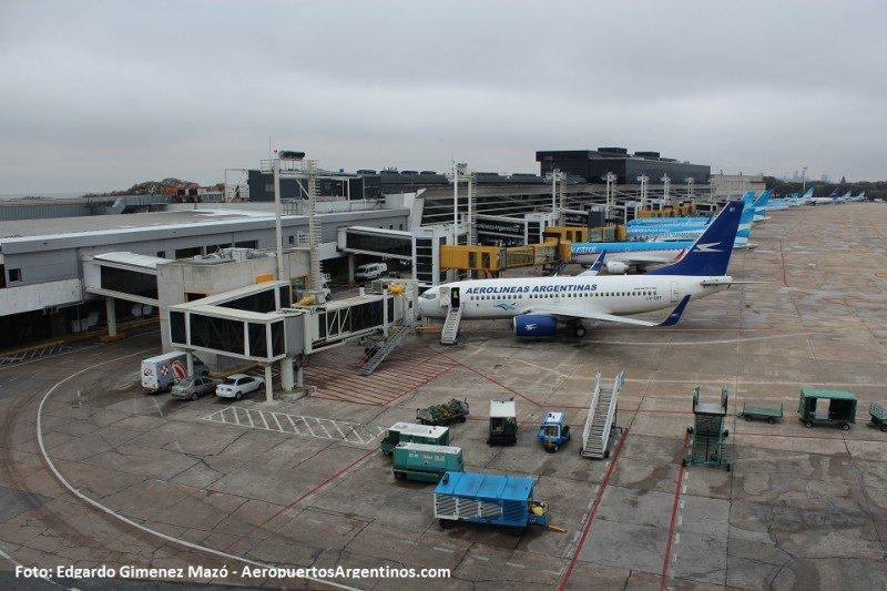 Aeroparque de Buenos Aires. Foto: Edgardo Giménez Mazó