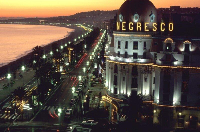 El Paseo de los Ingleses de Niza, escenario del trágico ataque.