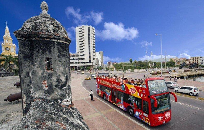 Sudamérica es una de las regiones que más ha crecido, Foto: Cartagena de Indias.