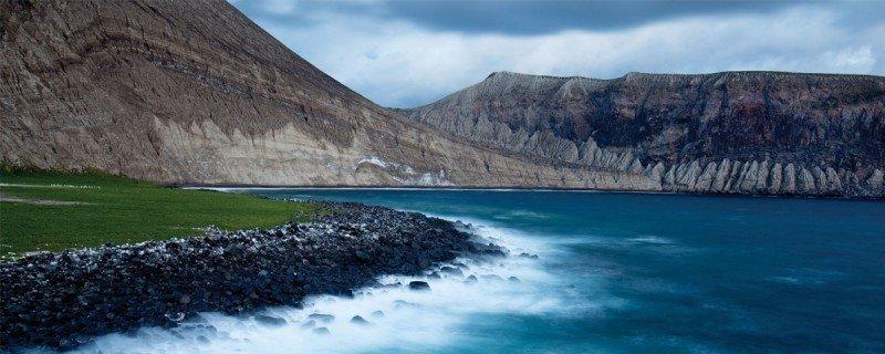 Isla volcánica de San Benedicto en el archipiélago reconocido por la Unesco como Patrimonio Natural.