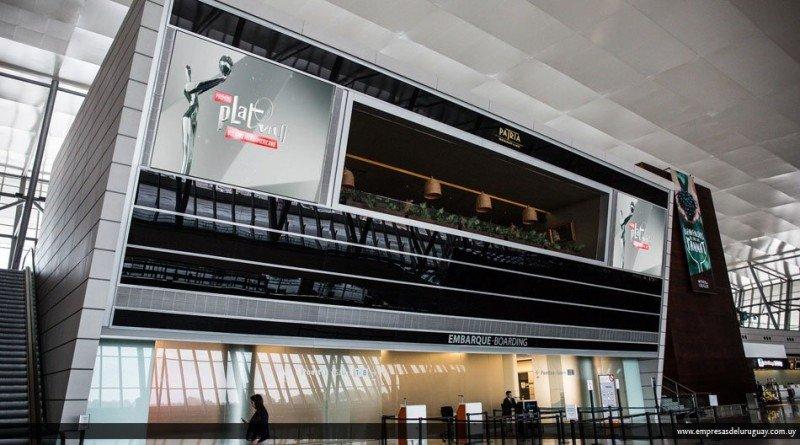 Alianza de aeropuertos de Uruguay y los Premios Platino