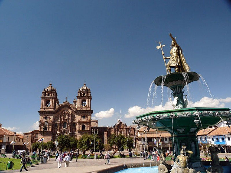 Plaza de Armas del Centro Histórico de Cuzco