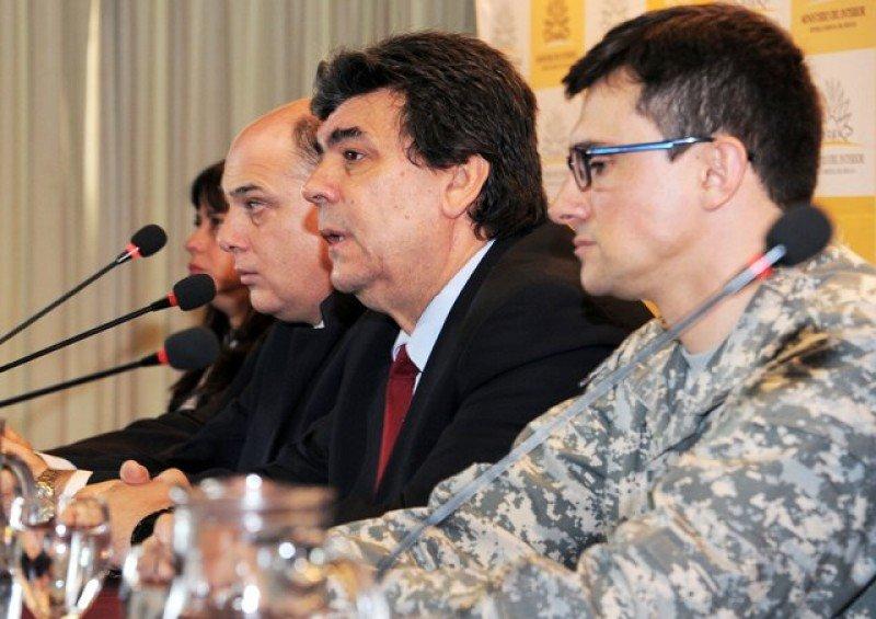 Mario Layera, director nacional de Policía de Uruguay, anuncia operativo especial Gavilán II.