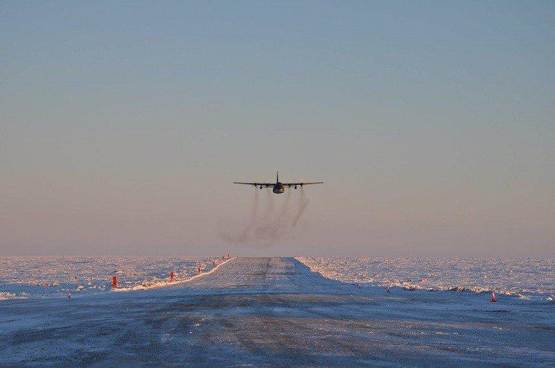 La Antártida podrá comenzar a recibir vuelos comerciales en 2018