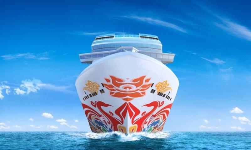 Artista chino pintará el casco del Norwegian Joy