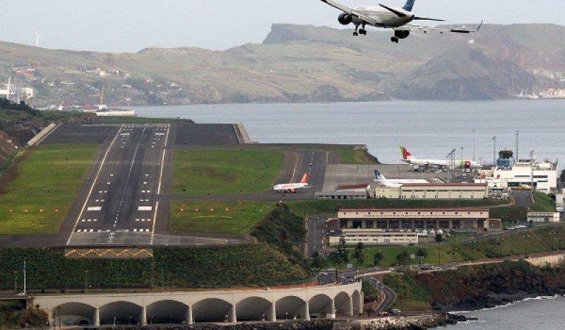Aeropuerto Cristiano Ronaldo de Funchal, Madeira.