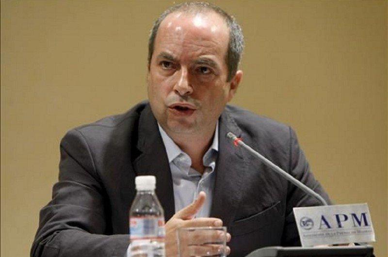 Daniel Zamit, controlador aéreo del centro de control aéreo de Madrid, delegado nacional de USCA, portavoz y uno de los acusados a pesar de que no estaba de servicio ni presente los días 3 y 4 de diciembre (Foto Efe/archivo).
