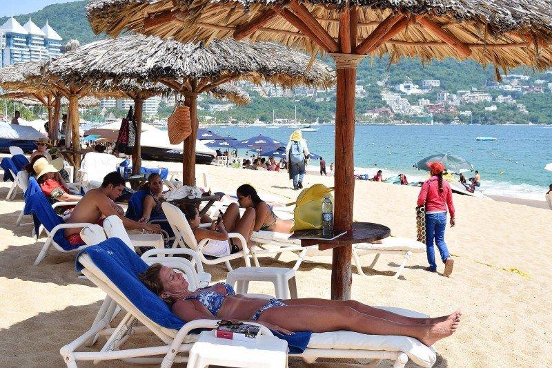 Playas de Acapulco.