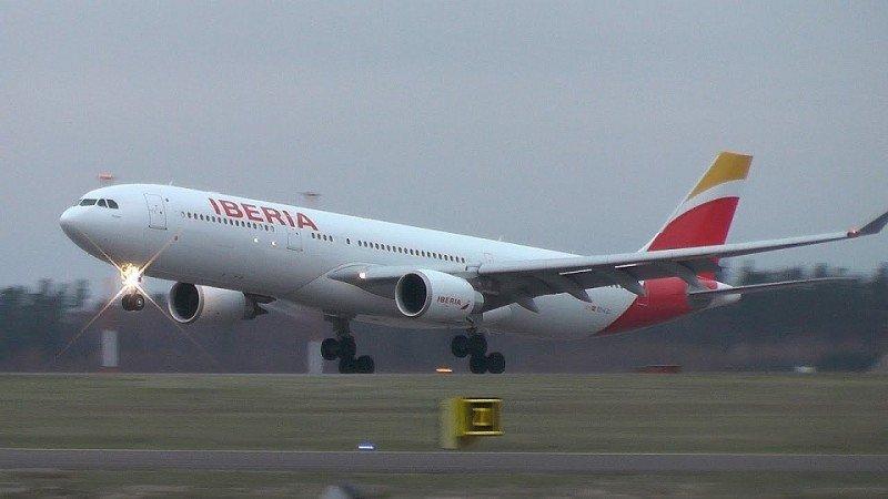 Iberia regresa a Johannesburgo con el avión al completo