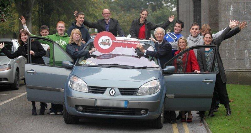 El carsharing es una de las modalidades de la economía colaborativa más popular entre los millennials (Foto: smartertravelworkplaces.ie).