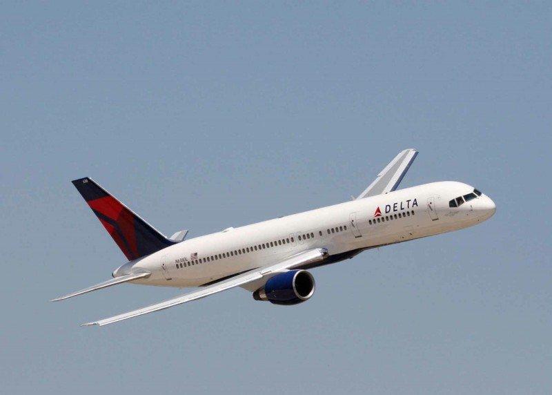 Un avión de Delta.