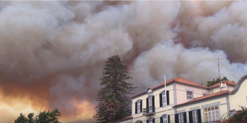 Madeira: impacto del incendio en el sector turístico