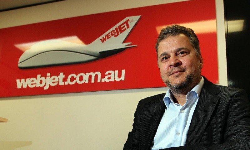 El CEO de Webjet, John Guscic. Foto: The Australian.