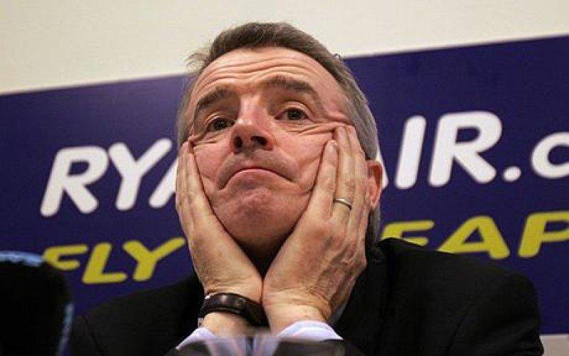 El director ejecutivo de la aerolínea, Michael O'Leary.