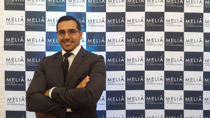 Javier Lorza, director comercial de Contratación y Leisure para Latinoamérica de Meliá Hotels International.