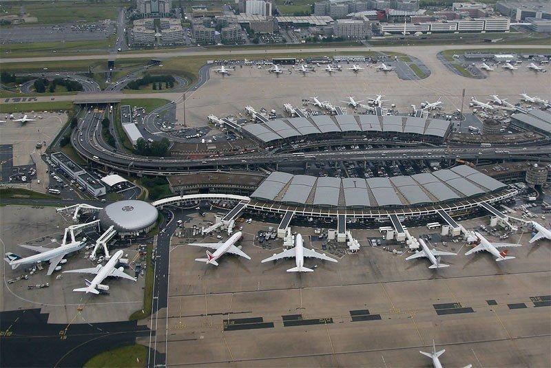 Aeropuerto Charles de Gaulle de París.