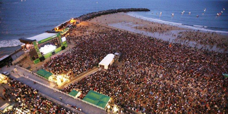 El Festival de Jazz de San Sebastián llenó los hoteles de la ciudad al 93% y los de la provincia al 86%. Imagen: San Sebastián Turismo.